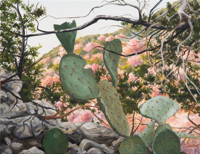 Prickly Pear (Opuntia) 18x23